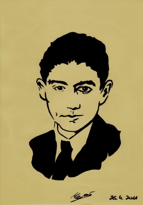 Franz Kafka por AllieH